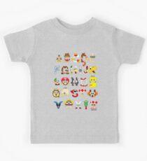 Super Mario Alphabet Kids Clothes