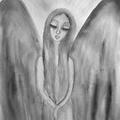 Grey weeping Angel by MarleyArt123