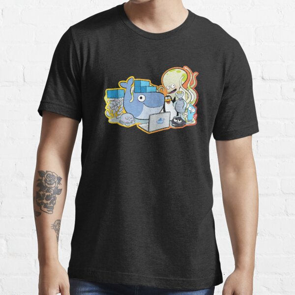 Familia docker Camiseta esencial