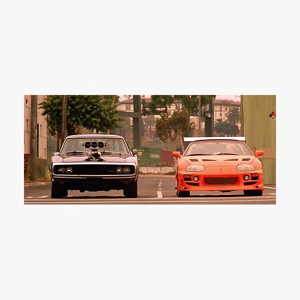 The fast and the furious last race Photographic Print