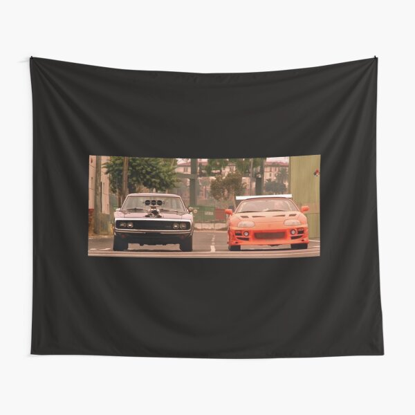The fast and the furious last race Tapestry