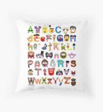 Sesame Street Alphabet Throw Pillow