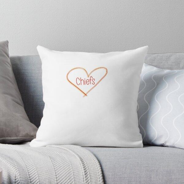 Chiefs love Throw Pillow