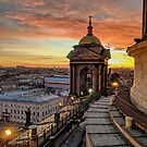Magical sunset on Saint Petersburg by opheliaautumn
