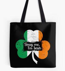 Snog Me, I'm Irish Tote Bag