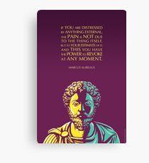 Marcus Aurelius quote: The Power to Revoke Canvas Print