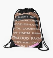 Tom Haverford Slang Drawstring Bag