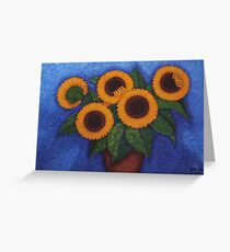 Sunflowers of my hope II Greeting Card