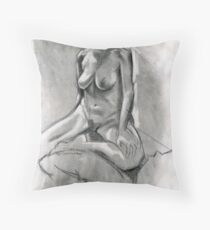 Charcoal Pullout Throw Pillow