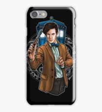 11th Doctor - Eleventh Heaven iPhone Case/Skin