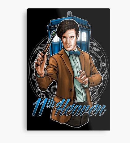 11th Doctor - Eleventh Heaven Metal Print