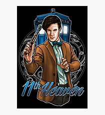 11th Doctor - Eleventh Heaven Photographic Print