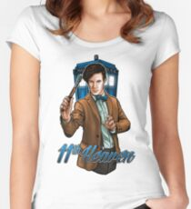 11th Doctor - Eleventh Heaven Women's Fitted Scoop T-Shirt
