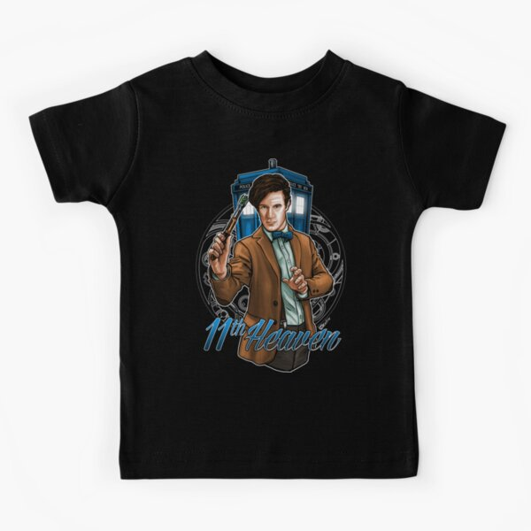 11th Doctor - Eleventh Heaven Kids T-Shirt