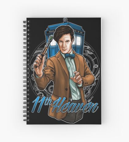 11th Doctor - Eleventh Heaven Spiral Notebook