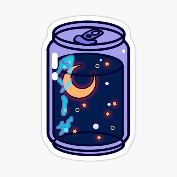 Moon Soda Sticker