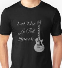 Let The Les Paul Speak Unisex T-Shirt