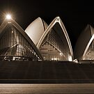 Sydney Opera House - from the forecourt by Gino Iori