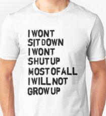 Frank Turner- Photosynthesis Unisex T-Shirt