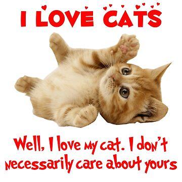 I Love Cats by killian8921