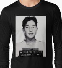 Cher mugshot arrest fan art Long Sleeve T-Shirt