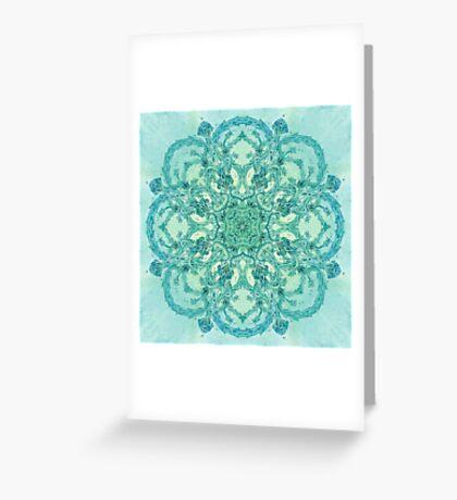 - Azure garden - Greeting Card
