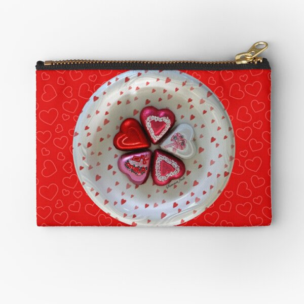 Will You Be My Valentine? Zipper Pouch