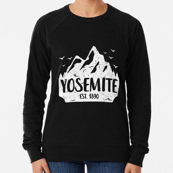 Yosemite Shirt, Yosemite, Yosemite National Park Shirt, Half Dome, Vintage, Retro, Gift, T-Shirt Lightweight Sweatshirt