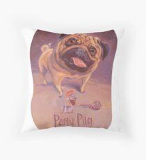 Cojín de suelo Party Pug - ¡NO HAY fiestas como el PUG!