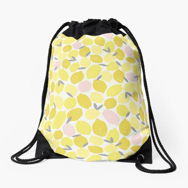 Pink Lemonade Drawstring Bag