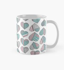 Hearts striped Mug