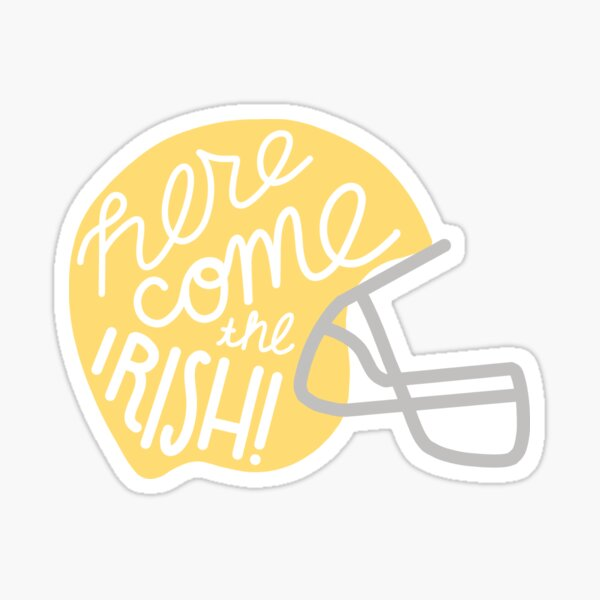 Irish Helmet Sticker