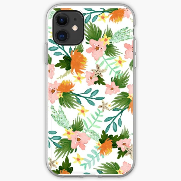 Coastline Floral iPhone Soft Case