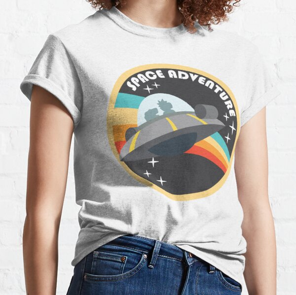 Space Adventure (Rick & Morty) Classic T-Shirt