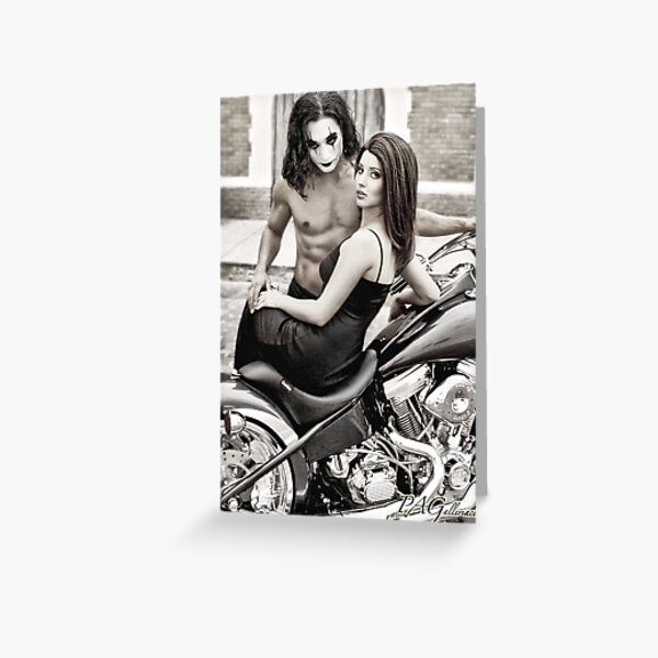 Eric Draven & Shelly Webster - The Crow Greeting Card