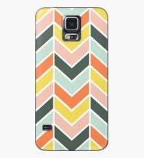 Cheerful Chevron Case/Skin for Samsung Galaxy