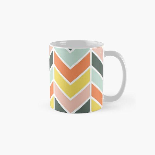 Cheerful Chevron Classic Mug