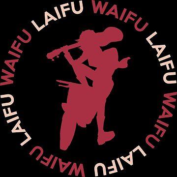 Anime Waifu Laifu Haruko Inspired Shirt by JaneFlame