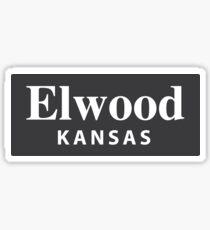 Elwood, Kansas Sticker