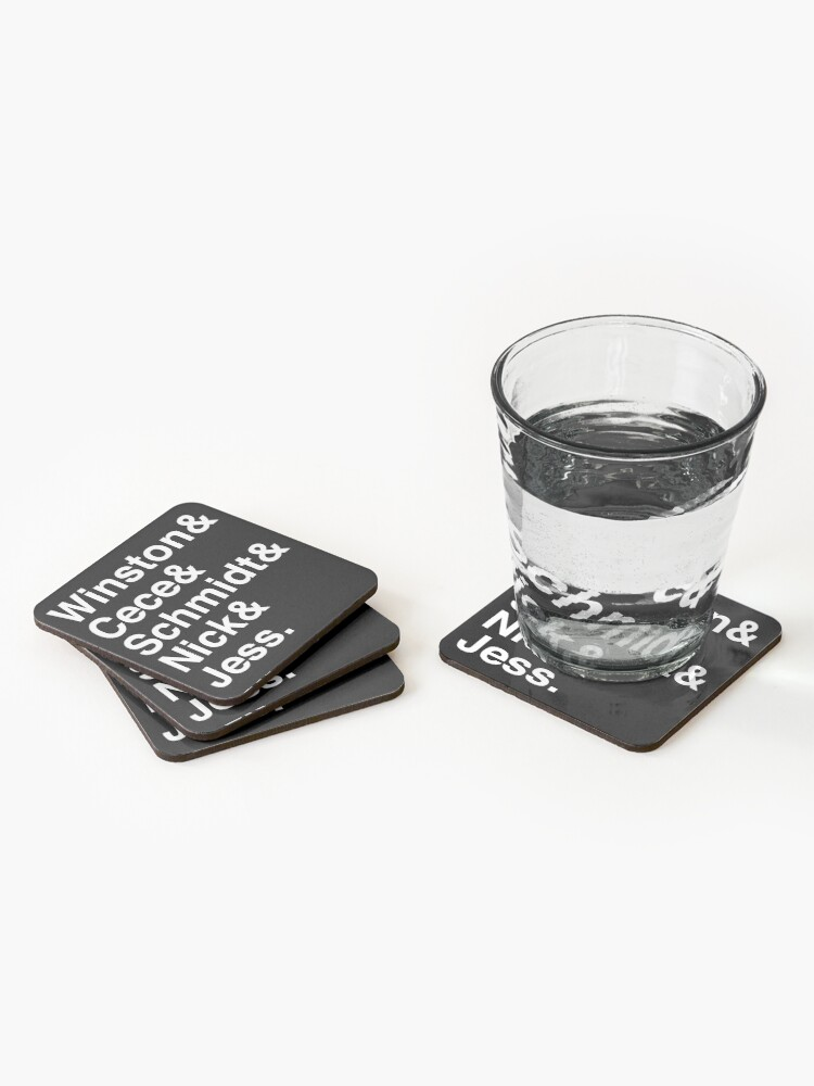 Alternate view of New Girl Jetset Coasters (Set of 4)