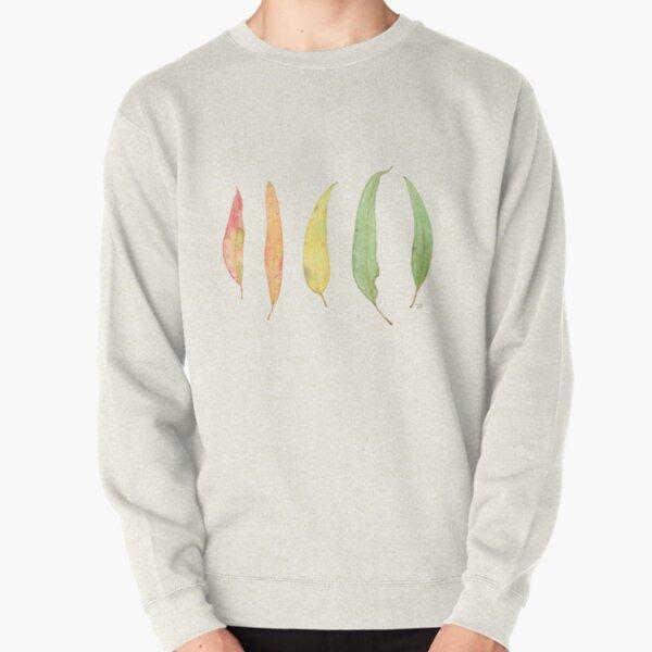 Eucalyptus Gum Leaves Watercolour Pullover Sweatshirt