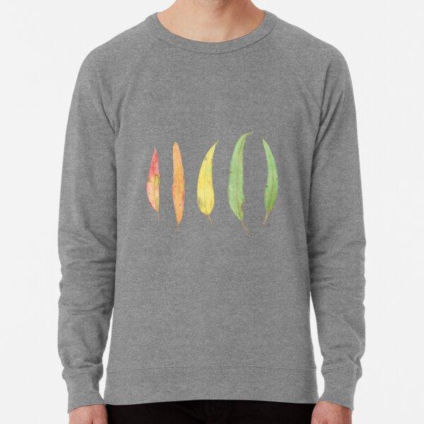 Eucalyptus Gum Leaves Watercolour Lightweight Sweatshirt