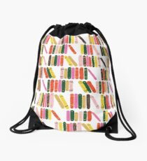 Bookworm Drawstring Bag