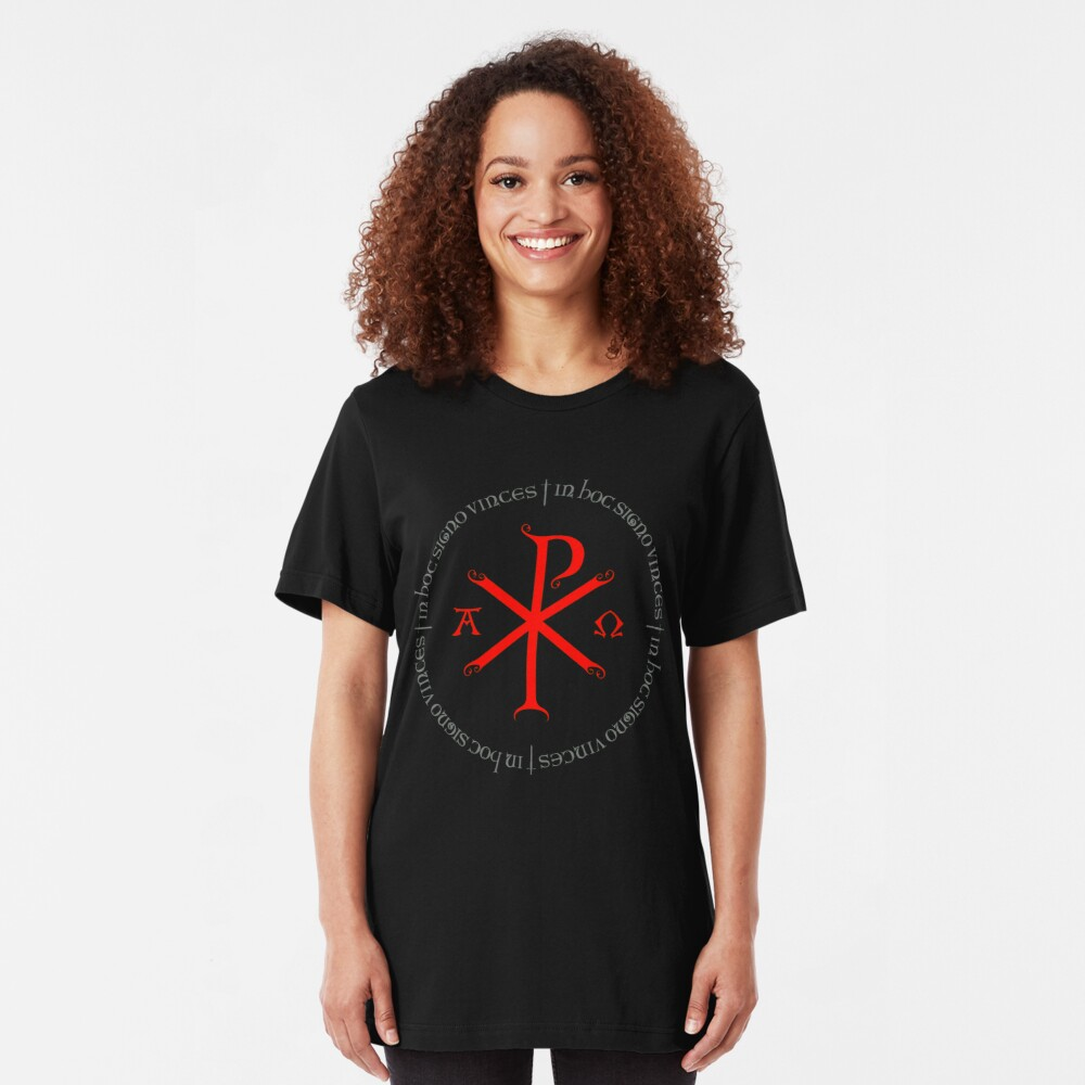 CHI RHO Slim Fit T-Shirt