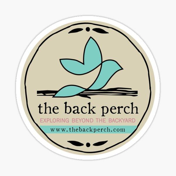 The Back Perch - Tan Sticker