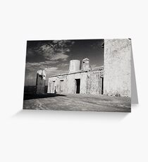 Lighthouse Building, Mozambique Greeting Card