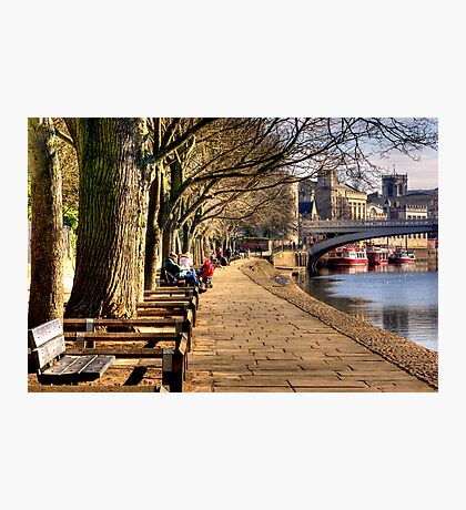 By The Riverside - York Photographic Print