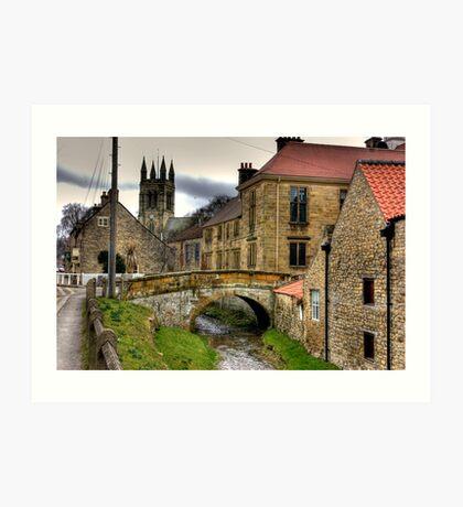 Helmsley - North Yorkshire Art Print