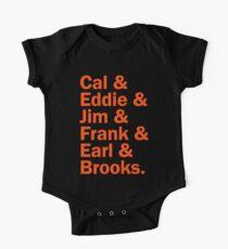 Baltimore Oriole HOFers - orange Kids Clothes