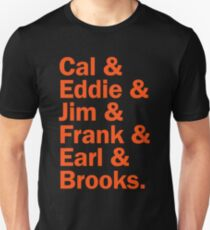 Baltimore Oriole HOFers - orange T-Shirt